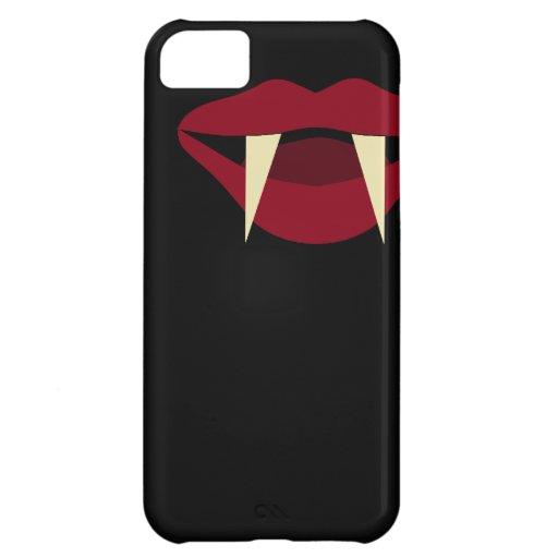 吸血鬼|牙|血|赤い|唇 iPhone5Cカバー