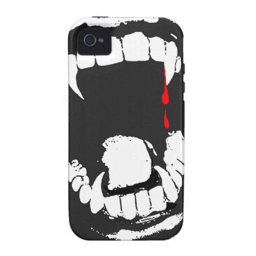 吸血鬼 牙 iPhone 4 穹窖 場合 iPhone 4 Cover