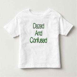 呆然とさせた及び混同された緑 トドラーTシャツ