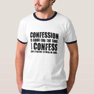 告白(侮辱)。 珍しいギフト Tシャツ