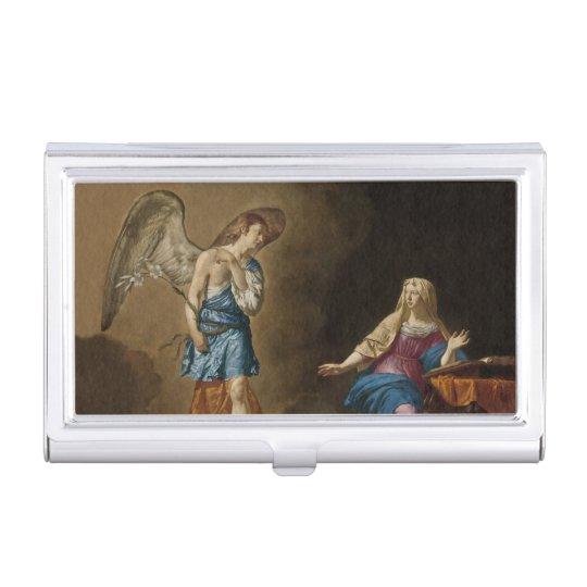 告知の天使およびメリー 名刺入れ