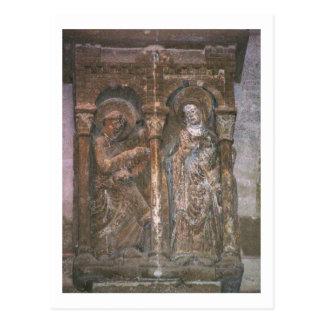 告知を描写する首都からのレリーフ、浮き彫り( ポストカード