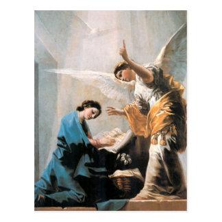 告知、フランシスコJose? de Goyaのファインアート はがき