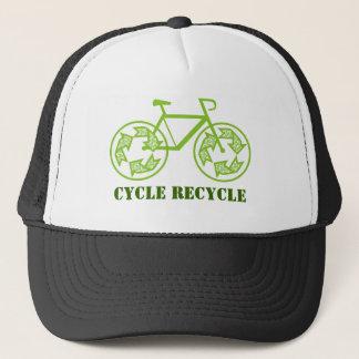 周期のリサイクルの帽子 キャップ