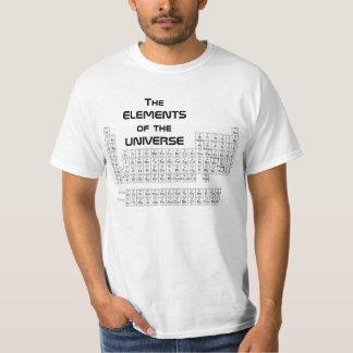 周期表のティー Tシャツ