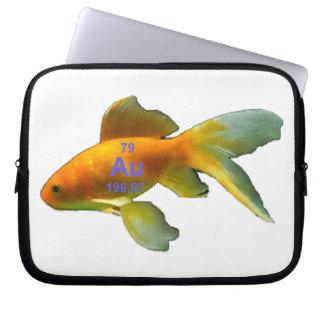 周期表の金魚 ラップトップスリーブ