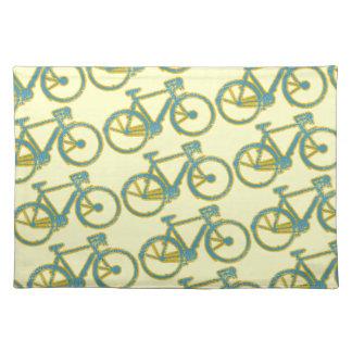 周期-サイクリング-サイクリング ランチョンマット