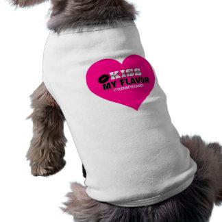 味のVapeの私のピンクに接吻して下さい ペット服