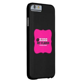 味のVapeの私のピンクに接吻して下さい Barely There iPhone 6 ケース