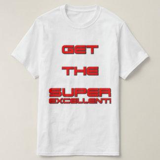 味方されるT3RMIN4TOR2二重は極度の優秀の得ます! Tシャツ