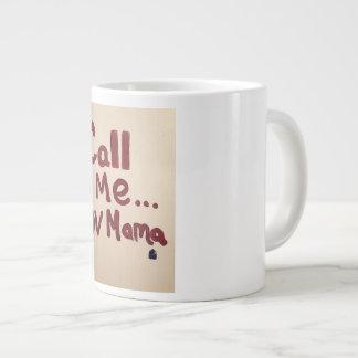 呼出しママ(オリジナル) ジャンボコーヒーマグカップ