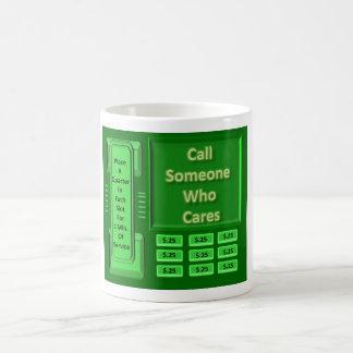 呼出し気になる誰か コーヒーマグカップ