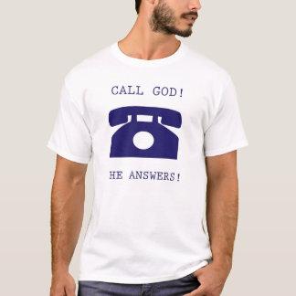 呼出し神 Tシャツ
