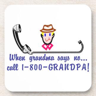 呼出し800祖父 コースター