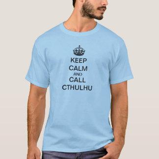 呼出しCthulhu Tシャツ
