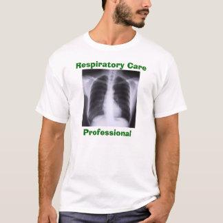 呼吸の心配のプロフェッショナル Tシャツ