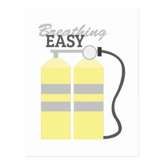 呼吸の簡単 ポストカード