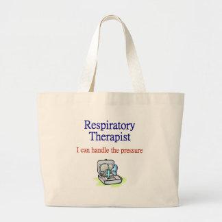 呼吸療法士のトートバック ラージトートバッグ