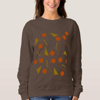 呼吸/女性の基本的なスエットシャツ スウェットシャツ