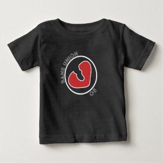 命とり連合のハートブレーカーのロゴのベビーのTシャツ ベビーTシャツ