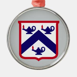 命令及びジェネラル・スタッフ大学レブンワース砦 メタルオーナメント