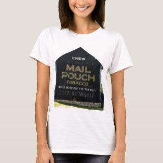 咀嚼郵便袋のタバコの納屋のオリジナルの写真 Tシャツ