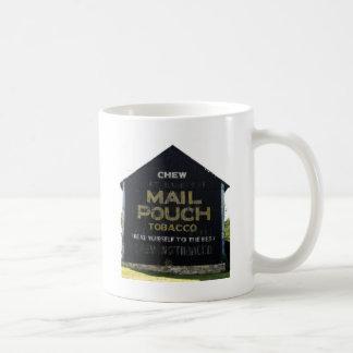 咀嚼郵便袋のタバコの納屋-元の写真 コーヒーマグカップ