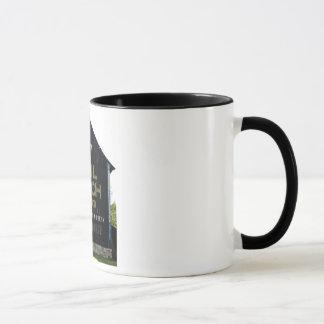 咀嚼郵便袋のタバコの納屋-元の写真 マグカップ