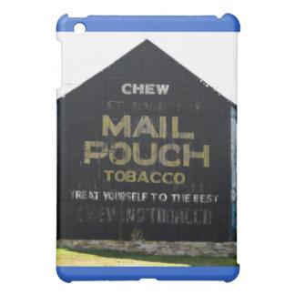 咀嚼郵便袋のタバコの納屋-元の写真 iPad MINI カバー