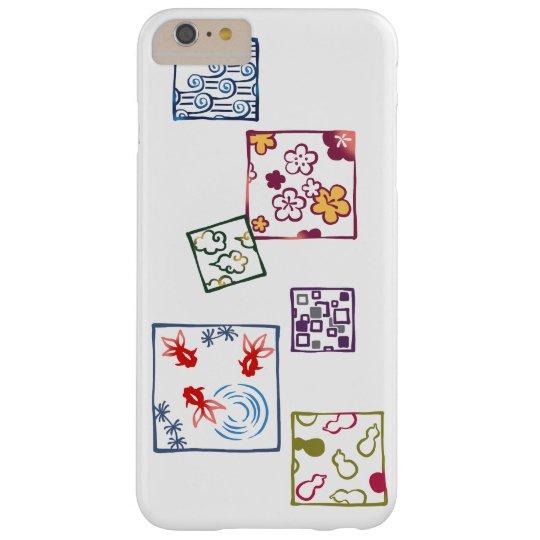 【和柄四角枠(カラフル)】Japanese pattern in Square(colorful) Barely There iPhone 6 Plus ケース