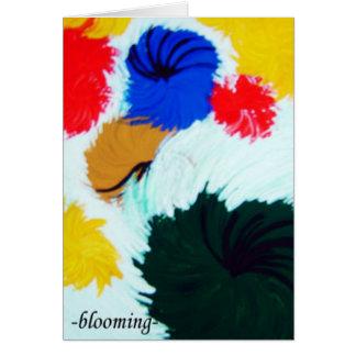 咲くこと カード
