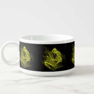 咲くオリーブ色のフラクタル チリボウル