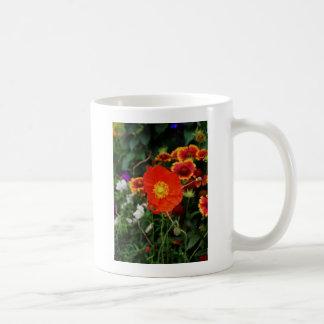 咲くケシ コーヒーマグカップ