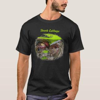 咲くスカンクキャベツTシャツ Tシャツ