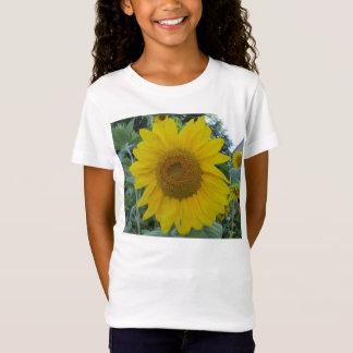 咲くヒマワリ Tシャツ