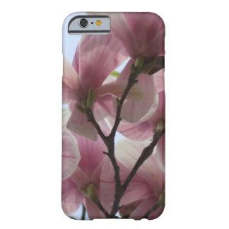 咲くピンクのマグノリア BARELY THERE iPhone 6 ケース