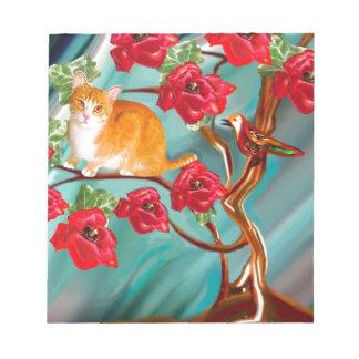 咲く友情の木の隣人 ノートパッド