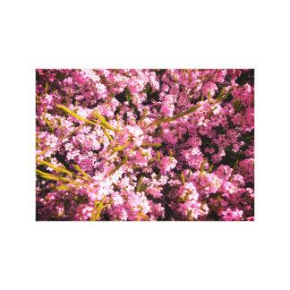 咲く春の花 キャンバスプリント