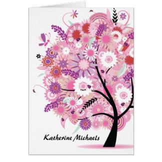 咲く木Notecard カード
