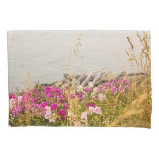 咲く海の海岸ライン枕箱 枕カバー