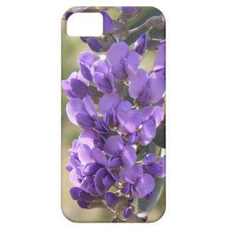 咲く薄紫、花のラベンダーのiPhoneの場合 iPhone SE/5/5s ケース