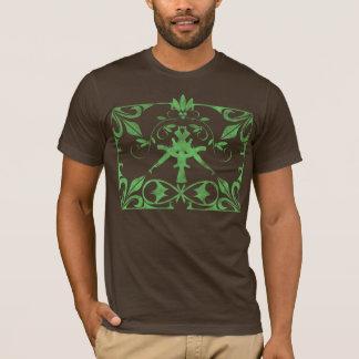 咲くAKs_Green Tシャツ