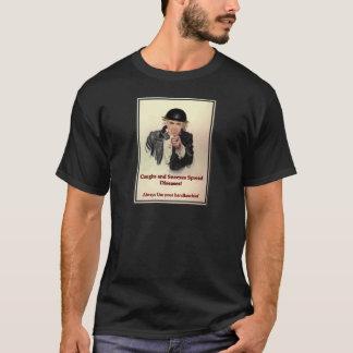 咳及びくしゃみ Tシャツ
