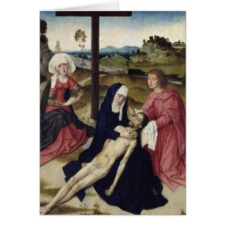 哀悼、c.1455-60 カード