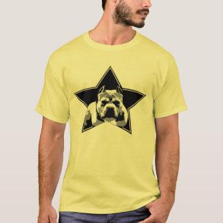 品種ピット・ブルのワイシャツを-おもしろい及びスタイリッシュ保護して下さい Tシャツ