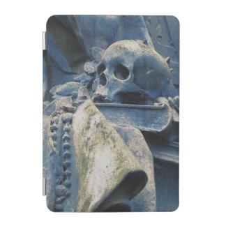 哲学のスカル、本及びビーズ(真夜中の青) iPad MINIカバー