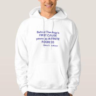 哲学のフード付きスウェットシャツ パーカ