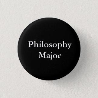 哲学の専攻学生 3.2CM 丸型バッジ