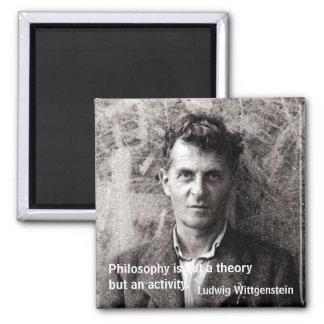 哲学は理論しかし…ではないです マグネット