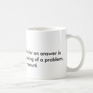 哲学者によるJiddu Krishnamurthi引用文 コーヒーマグカップ